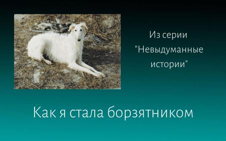 как я стала борзятником Елена Дымченко